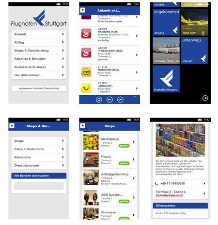 Flughafen Stuttgart App parplatztarife app flughafen