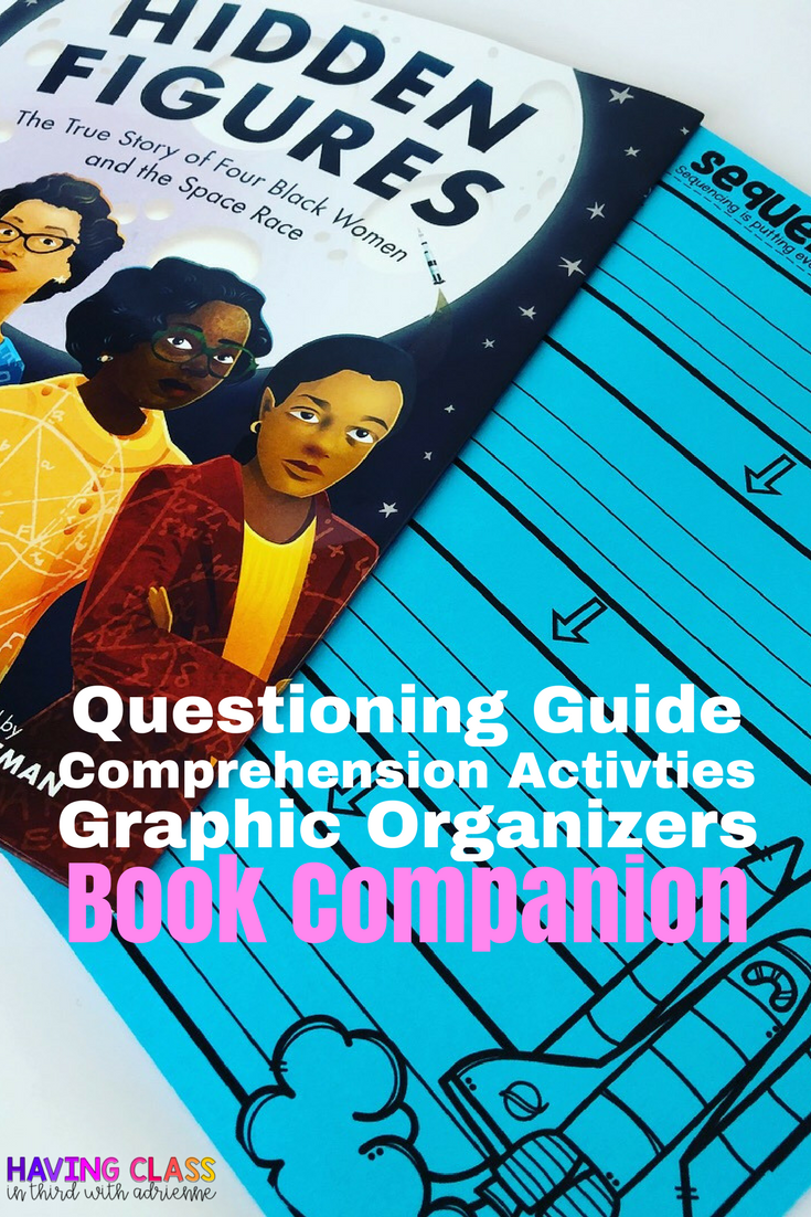 Hidden Figures Picture Book Companion Amazing 2nd 5th Lessons