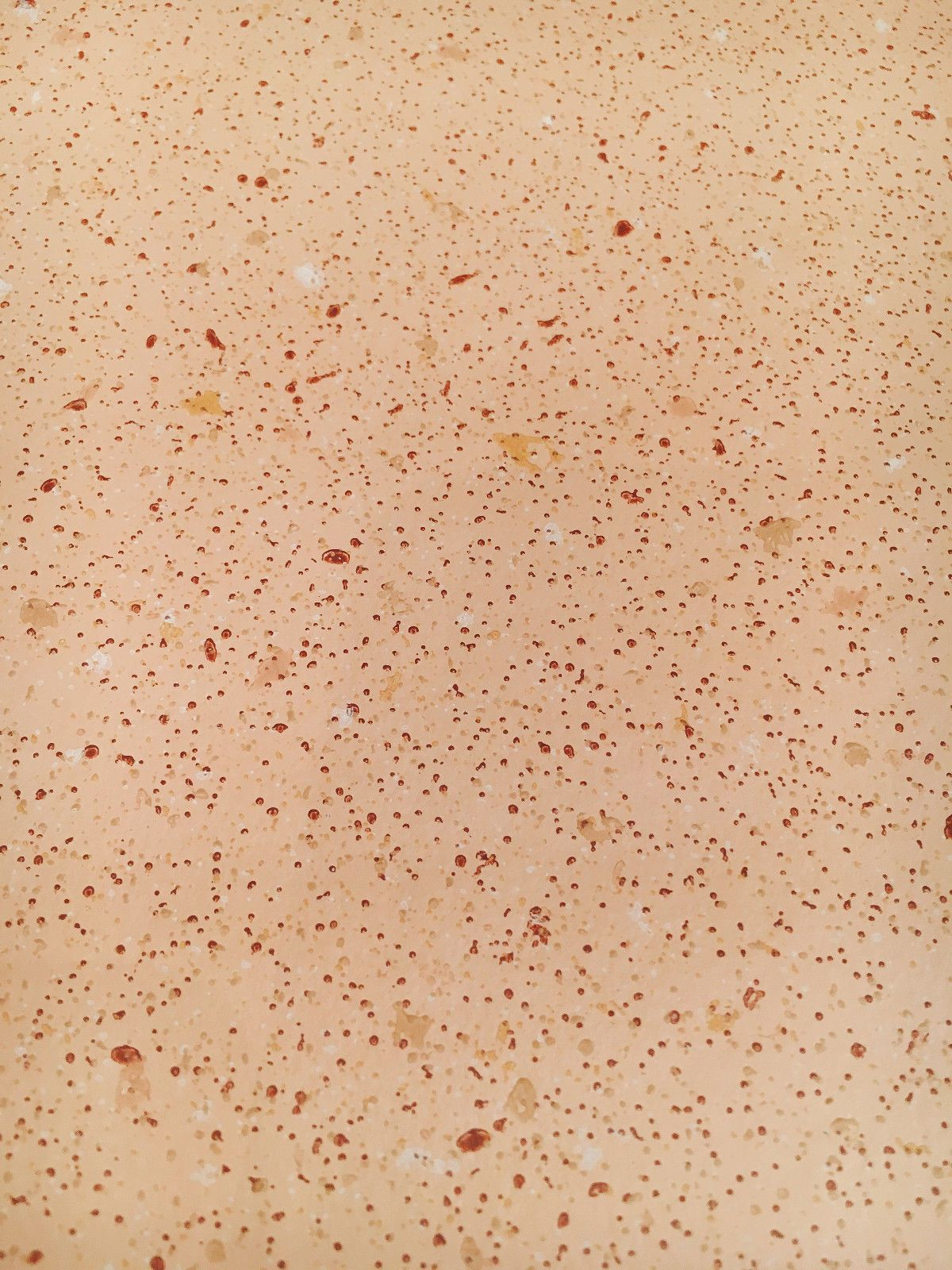 Details about Vintage Wallpaper Speckle Sponge Peach and