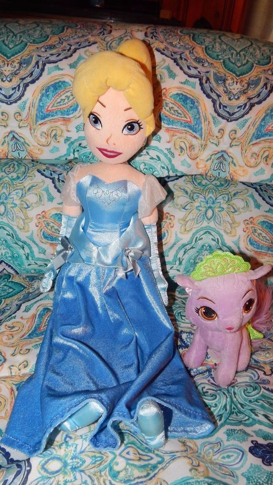 Cinderella Soft Toy Doll : Disney store cinderella princess soft doll quot palace