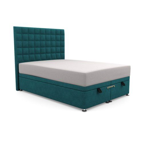 Astonishing Canora Grey Hart Bridgeholme Upholstered Ottoman Bed Machost Co Dining Chair Design Ideas Machostcouk