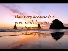 Inspirational Quotes Loss Loved One Custom Inspirational Quotes Images Death Dont Cry Blessfully Over Smile