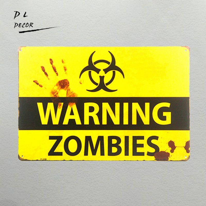 Zombie Wall Decoration