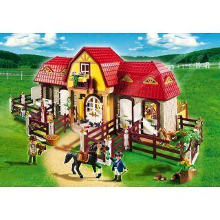playmobil ferma mare cu padoc transport gratuit pony farm magazinmamica - Playmobil Gratuit