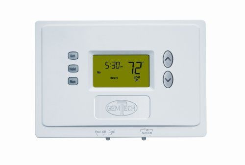 Gemtech Gtp110d Digital Programmable Thermostat By Gemtech 31 67 The Gemtech Gtp110d Digital Programmable Thermostat Is The Ideal Solution For Savi