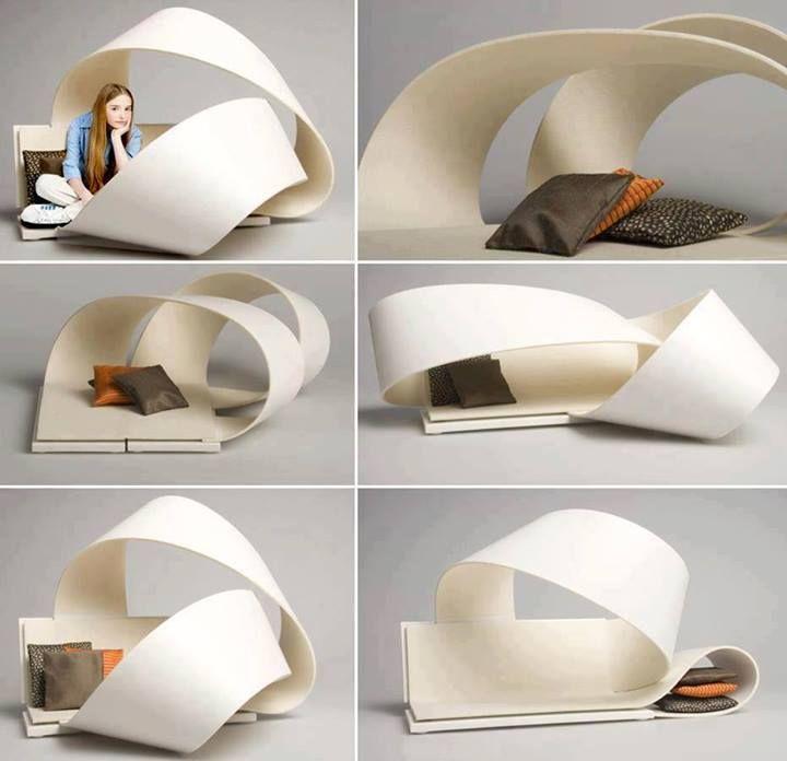 flexible furniture \u201cla bande\u201d by sarah lovgren design furniture