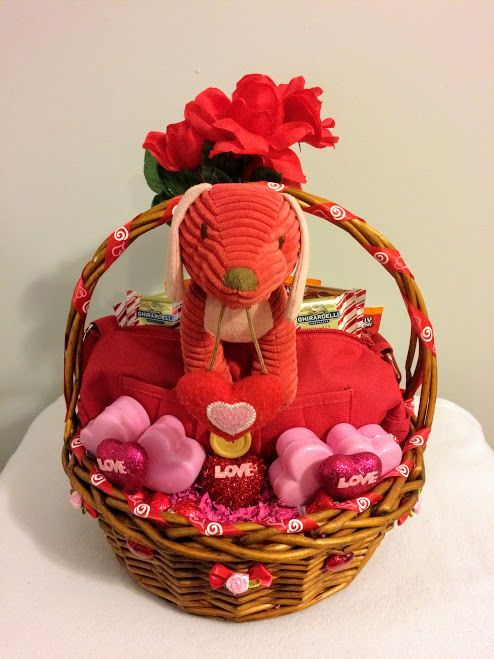 35 ebay sale pink red love puppy easter gift basket handmade 35 ebay sale pink red love puppy easter gift basket handmade negle Images