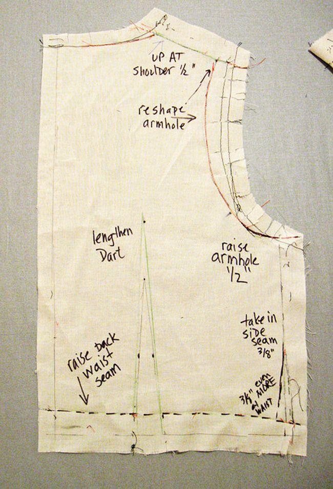 Tips for Sewing a Muslin That Fits Perfectly | Clothes & Fashion ...