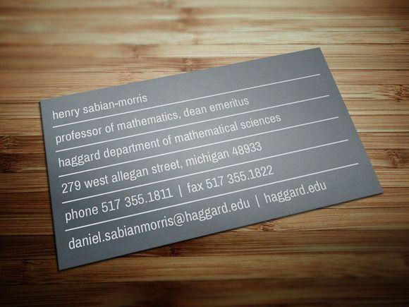 University professor business card university professor university professor business card by layoutlet on creativemarket colourmoves