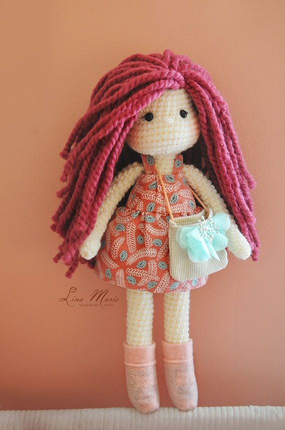 Crochet Doll Ready to be shipped by LinaMarieDolls on Etsy