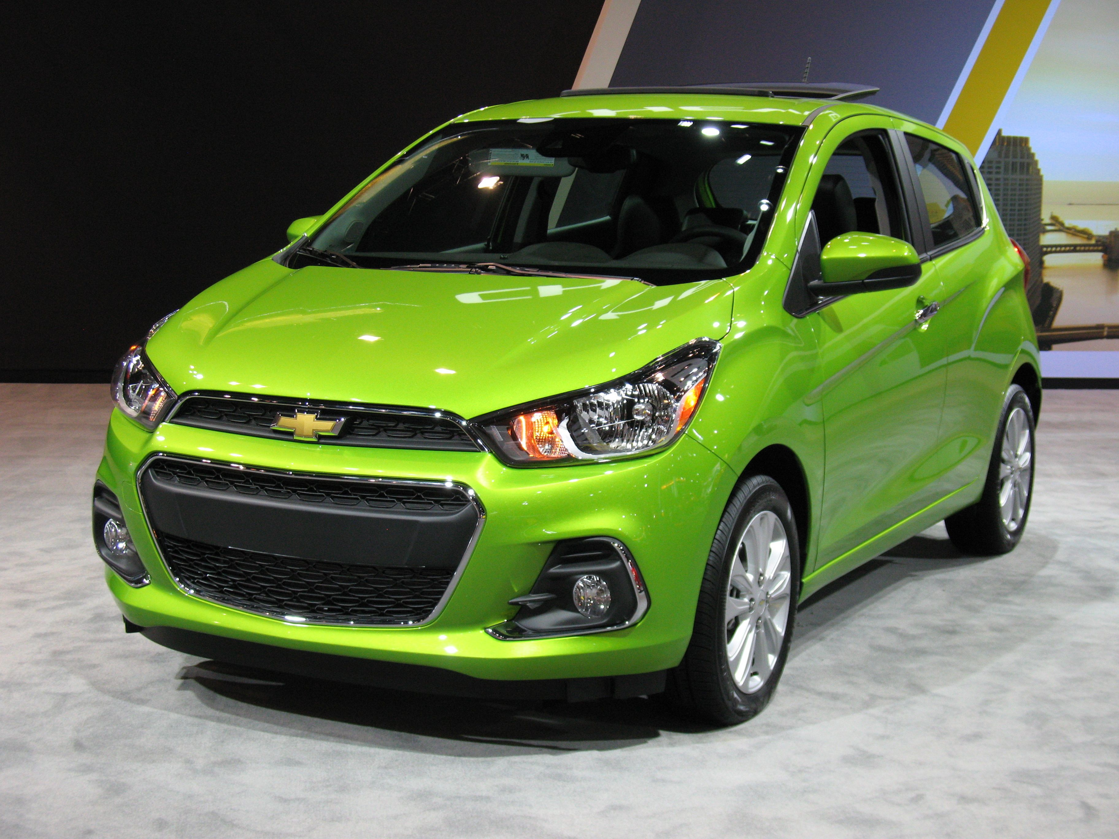 2016 Chevrolet Spark Hatchback 3 4 Front View Chevrolet Chevy