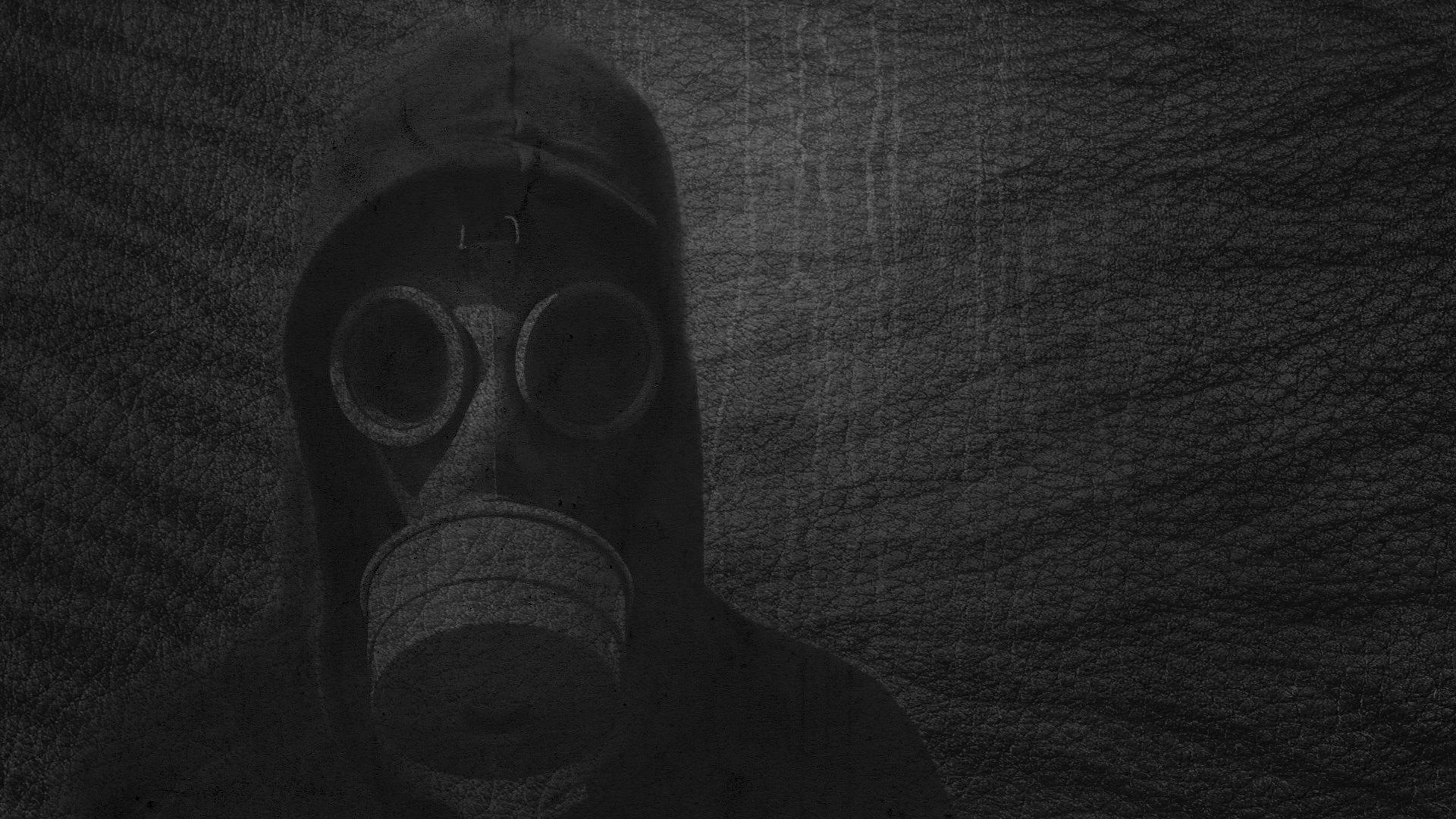 Widescreen Wallpapers Gas Mask Pic 453 KB