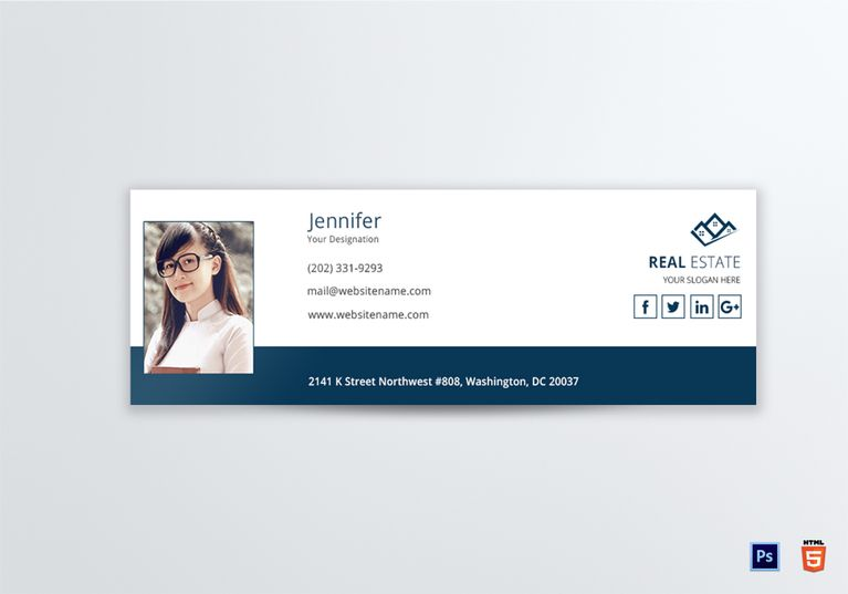 Real Estate Email Signature Template Email Signature Templates