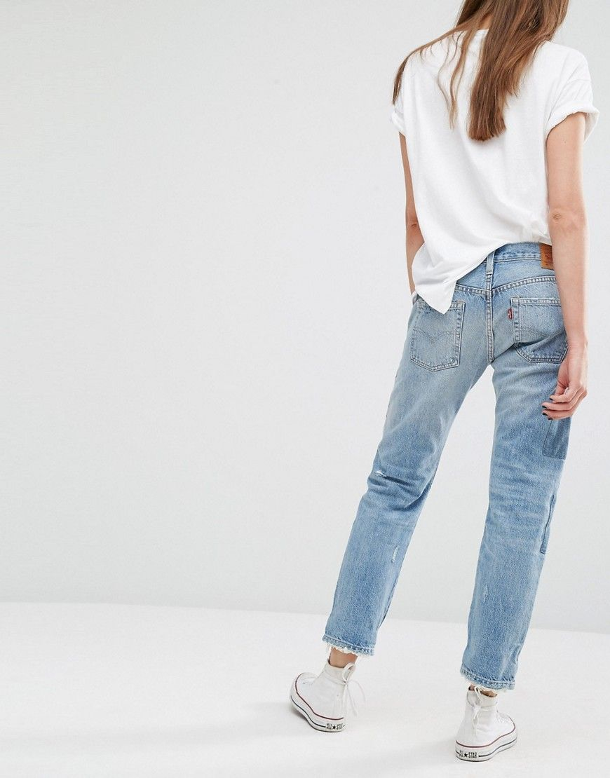 LEVI'S 501 CT jeans for boyish and casual outfit