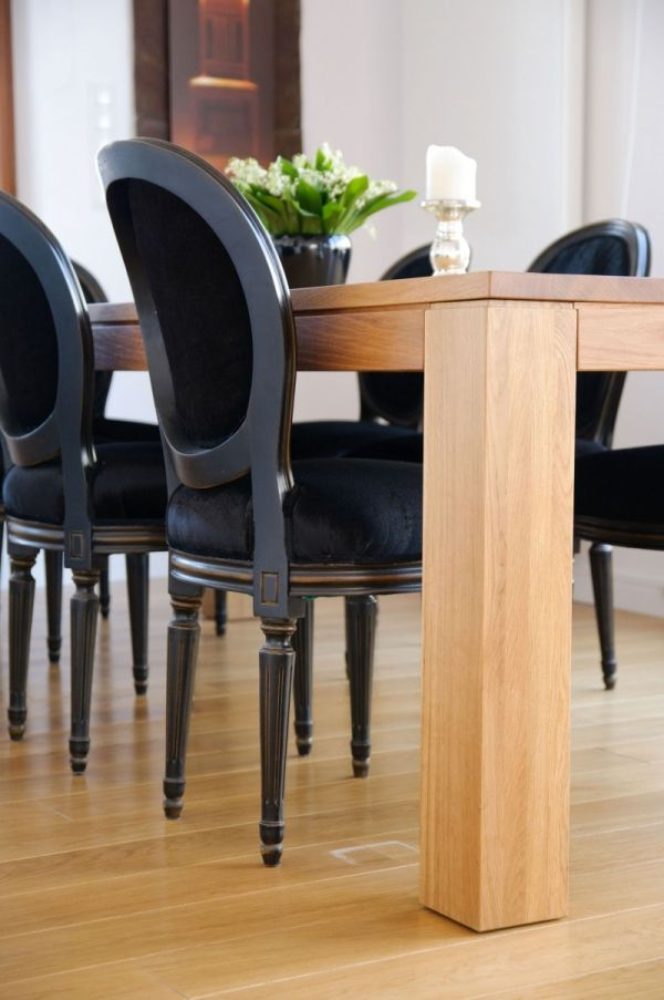 Esszimmer Möbel-Design Luxus Stühle-Schwarz gepolstert | interior ...
