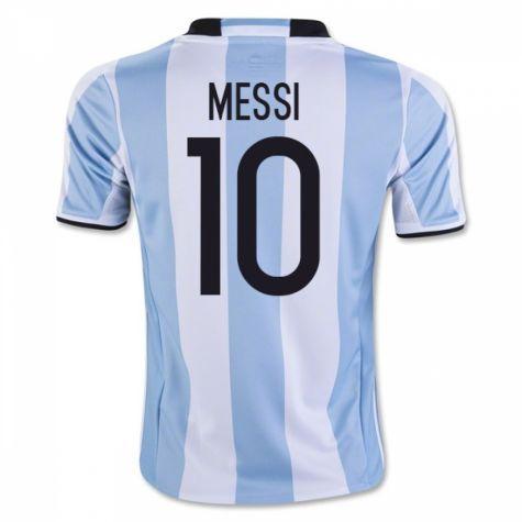 best authentic e7342 5d879 Argentina 2016 Batistuta 9 Hemmatröja Kortärmad  Billiga  fotbollströjor