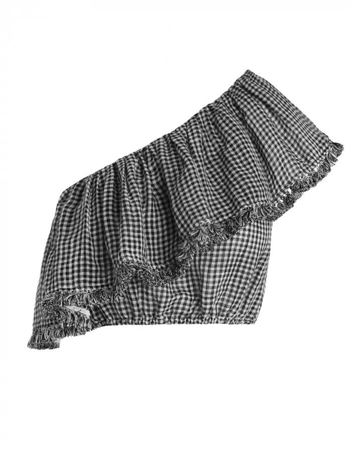 ff597424f04 Zimmermann Paradiso Gingham Frill Top . Product Image