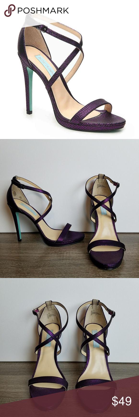 Betsey Johnson Dina Platform Sandals