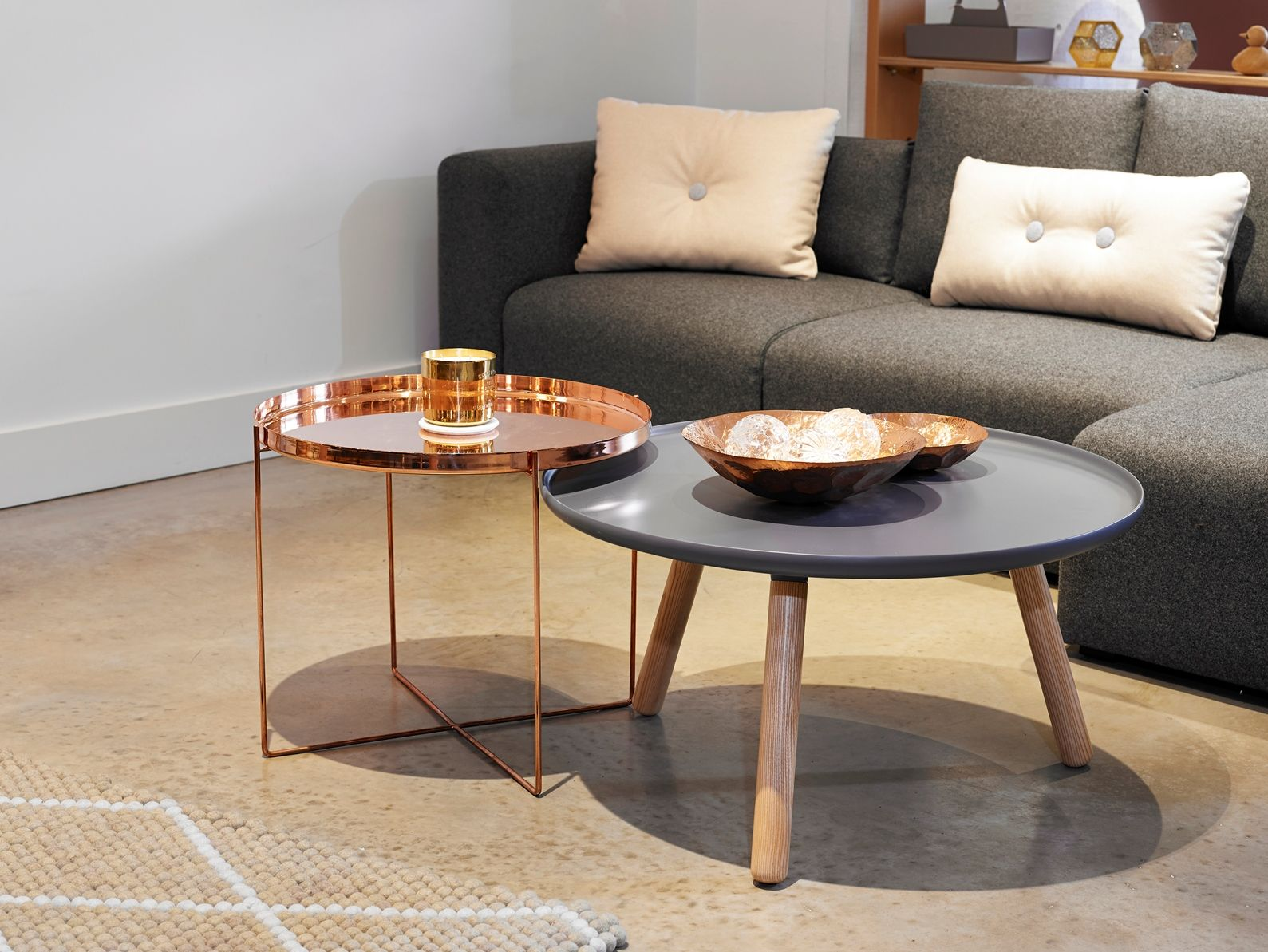 Copper And Metallics In The Nest Co Uk Showroom E15