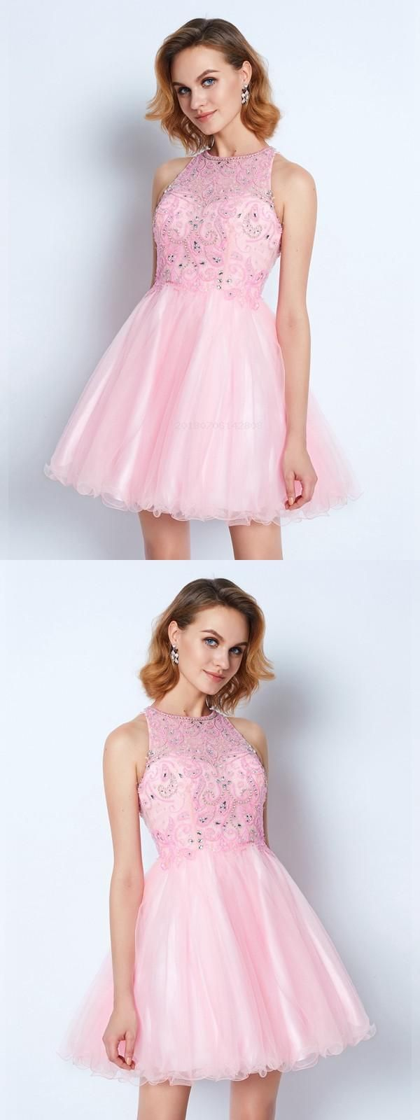 Custom made morden prom dress aline sleeveless homecoming dresses
