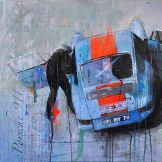 Porsche in art #porsche #art