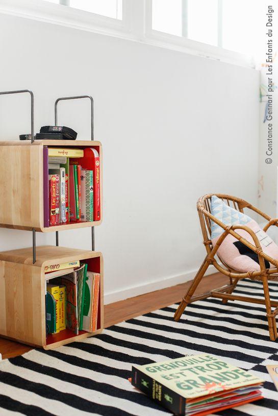 Trouvez votre lit enfant et tous le mobilier enfant design chez les enfants du design
