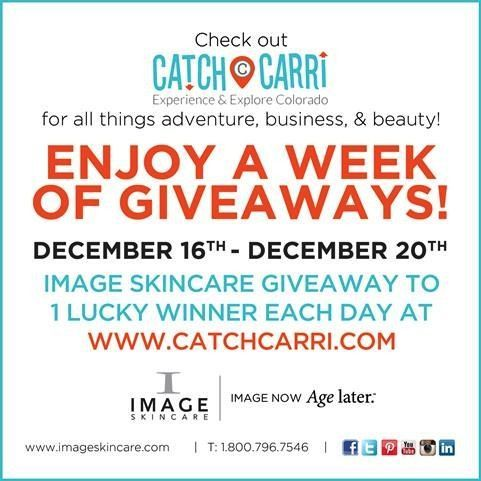 to be working with Image Skincare on the next Catch Carri giveaway! Win a skincare line of your choice!