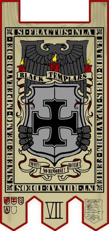 black templar crusade banners - Google Search