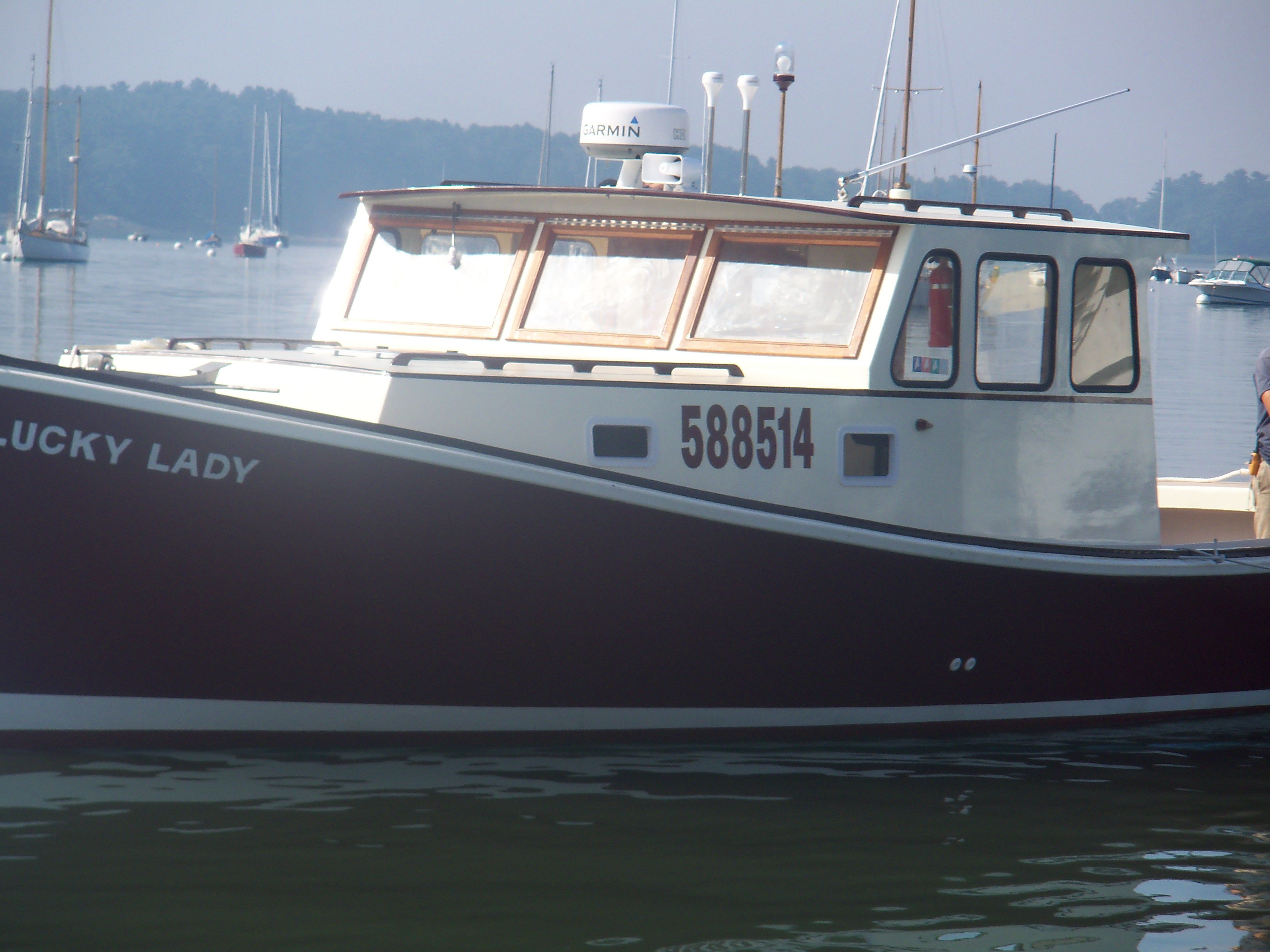 Boats yachts maine boats lobster boats picnic boats sailing - Lucky Lady A 36 Stanley Maine Built Lobster Boat Now A