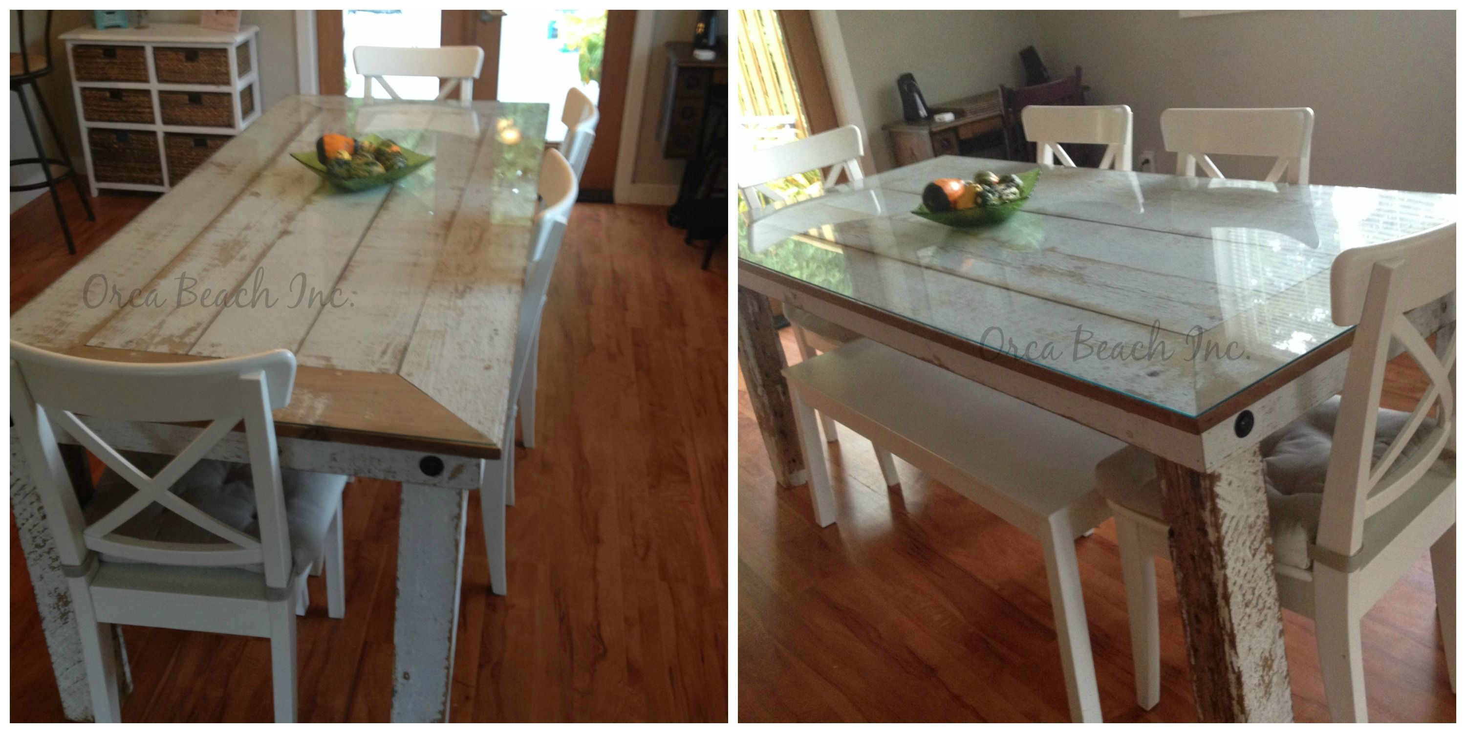Beau Shabby Chic Dining Table Edinburgh