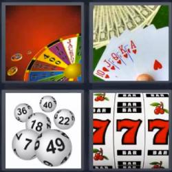 4 fotos 1 palabra cartas poker ruleta