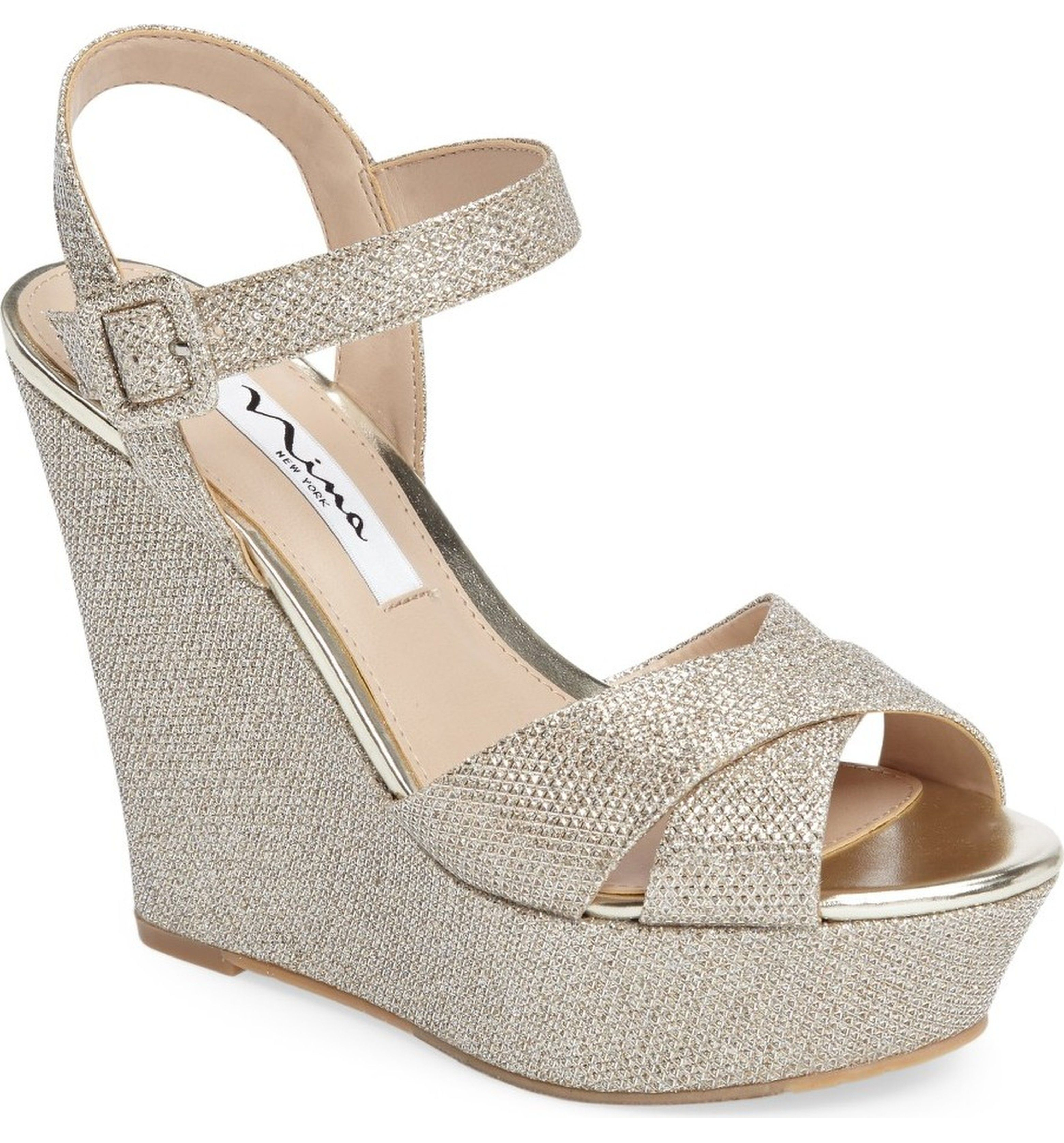 Nina Womens Jinjer Wedge Sandal