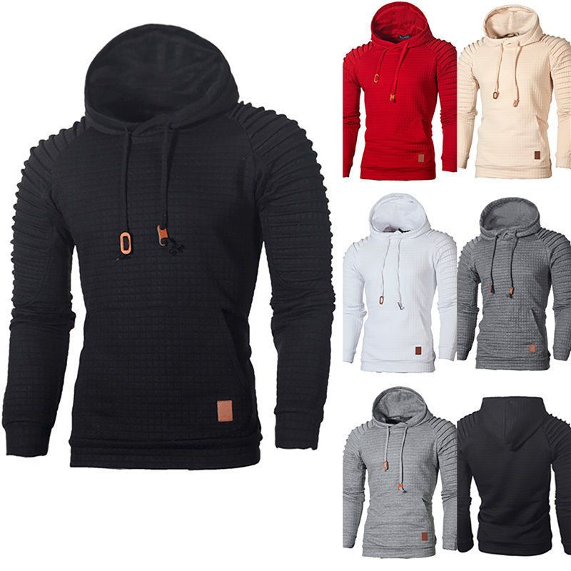 Men's Hoodie Sweatshirt Coat Jumper Hooded Jacket Sweater