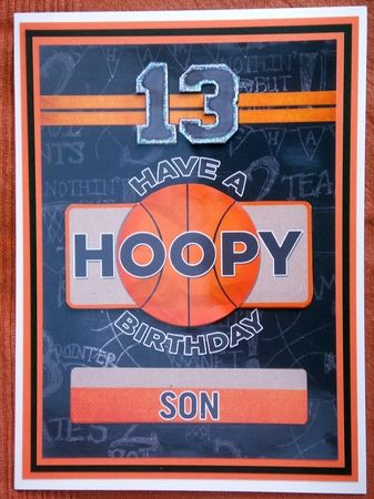 5x7 card topper and decoupage 13th birthday basketball theme by 5x7 card topper and decoupage 13th birthday basketball theme by lynda harman bookmarktalkfo Image collections