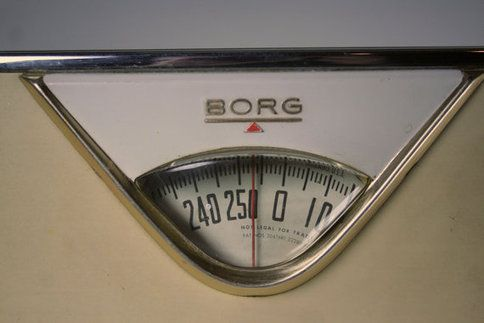 Cream Borg Bathroom Scale Par Turtlehill Sur Etsy