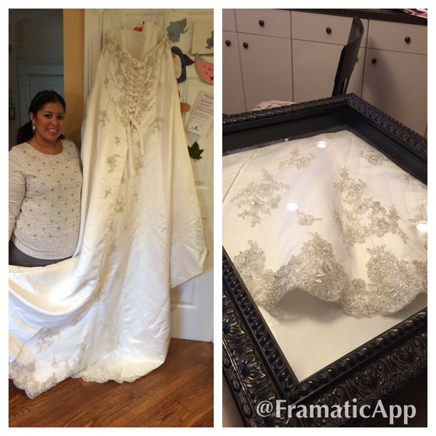 My Wedding Dress Before And After. I Bought A Plains