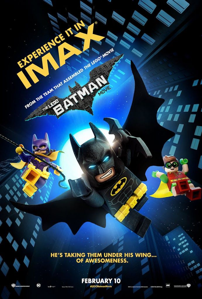 THE LEGO BATMAN MOVIE poster No.5 (IMAX) | Movie Posters ...