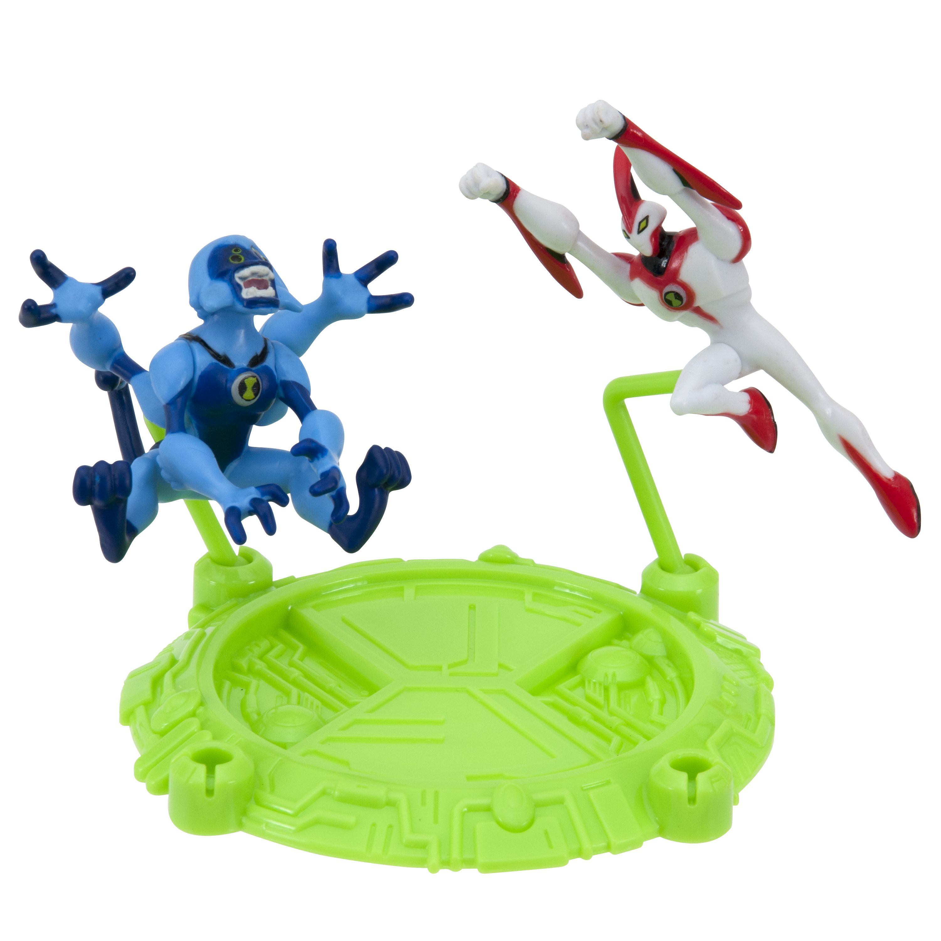 Fun 2 pack of Ben 10 action action figures