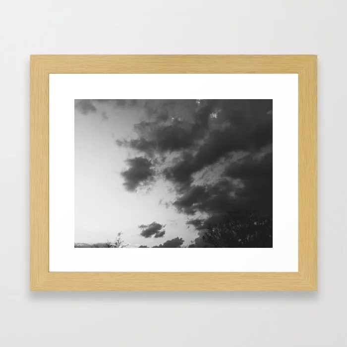 Pin By Wait Idk On Art Works For Sale Framed Art Prints Black And White Clouds Framed Art