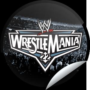 Http Glueimg S3 Amazonaws Com Stickers Huge Wwe Wrestlemania 22 Png Wrestlemania 22 Wrestlemania Wrestlemania Logo