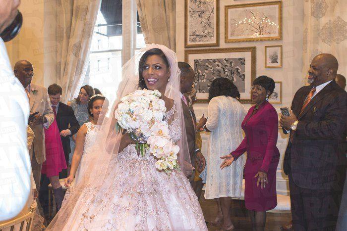 Omarosa Wedding Dress Pics Omarosa Wedding Reception