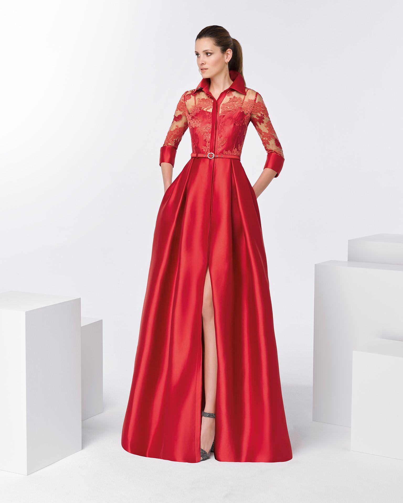 8e4f6a0b1 Vestido camisero fiesta - Vestidos elegantes de españa