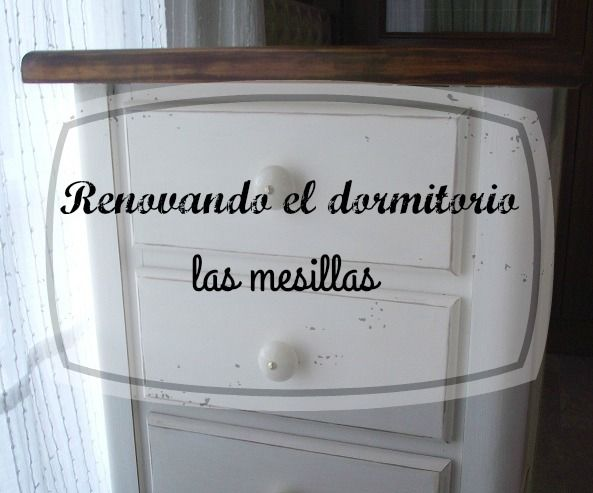 Trastos en el doblao: Renovando el dormitorio (III): las mesillas.