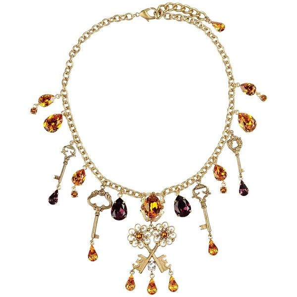 fe59edc47c40 Dolce   Gabbana Necklace (€775) ❤ liked on Polyvore featuring jewelry