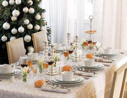 Cmo decorar la mesa en Navidad y que siga siendo prctica
