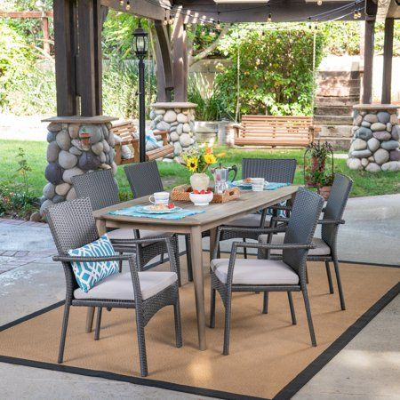 Campbell 7 Piece Sling Dining Set Sale
