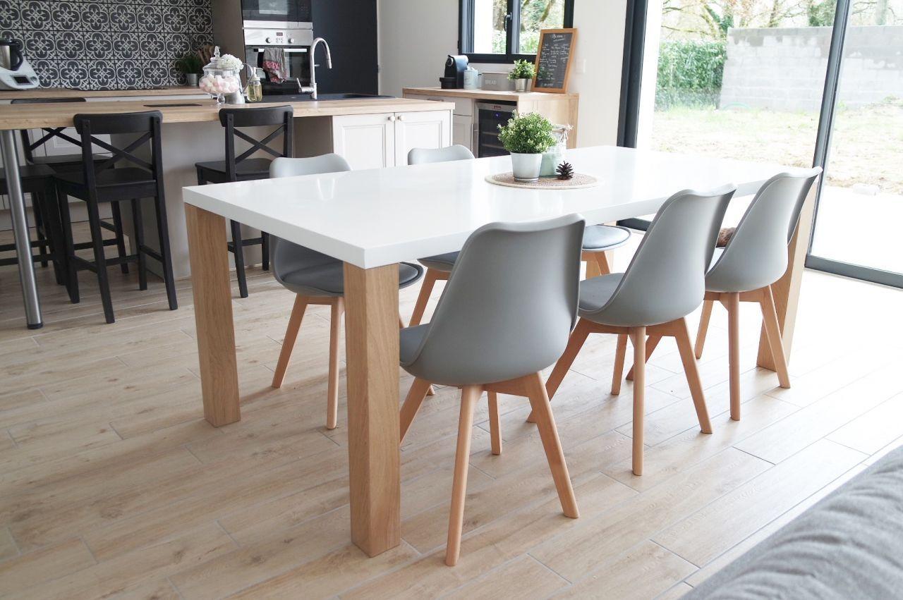 Table Austral Maisons du Monde et chaises My Little Factory ...