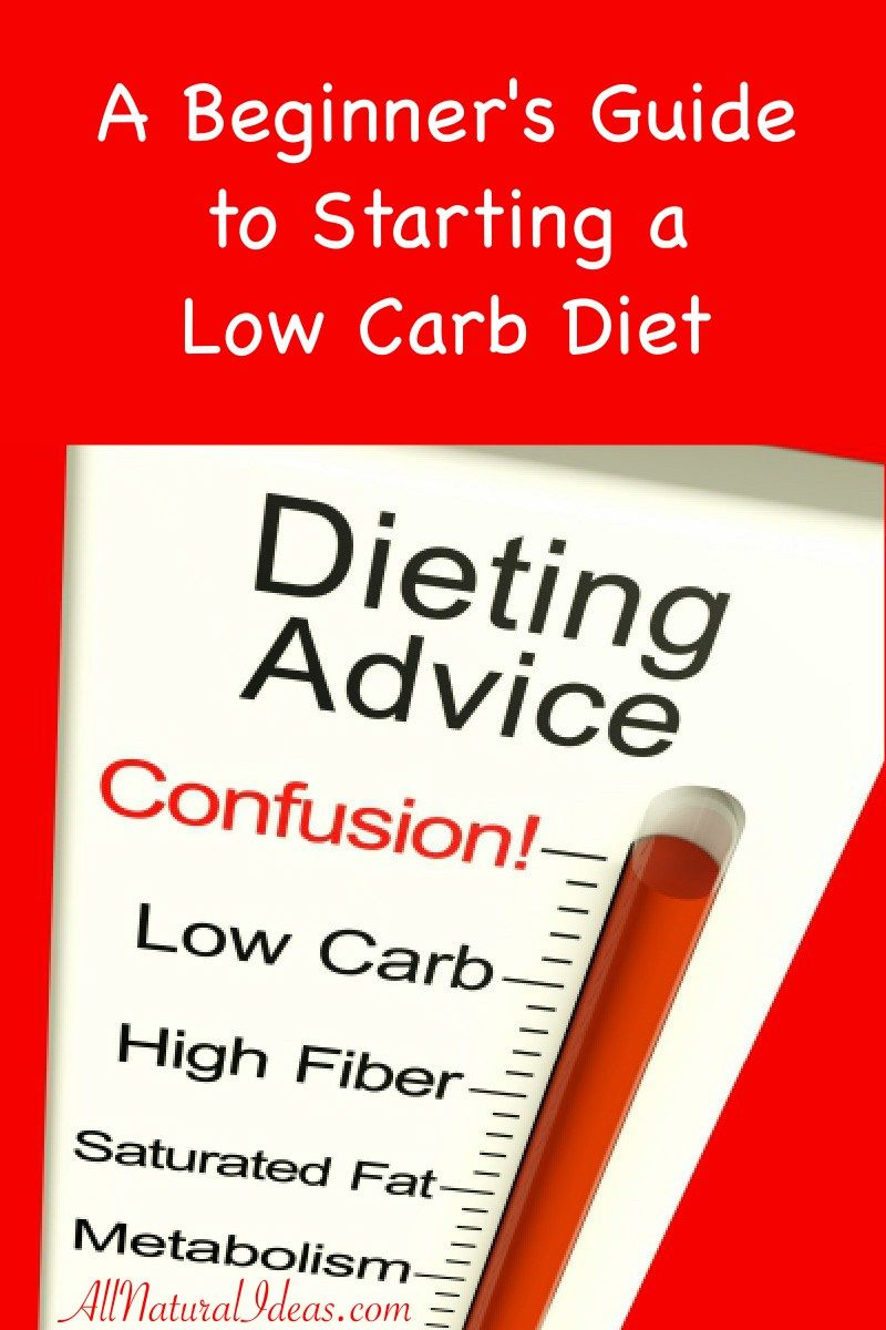 Low Carb Diet Beginners Guide to Starting All Natural