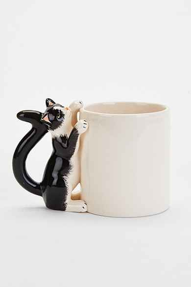Plum & Bow Climbing Cat Mug #coolmugs