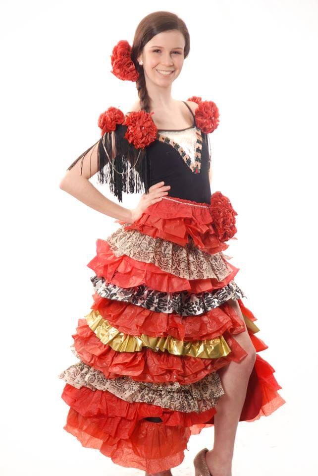 Costumi Di Carnevale Con Carta Crespa Fotogallery Donnaclick
